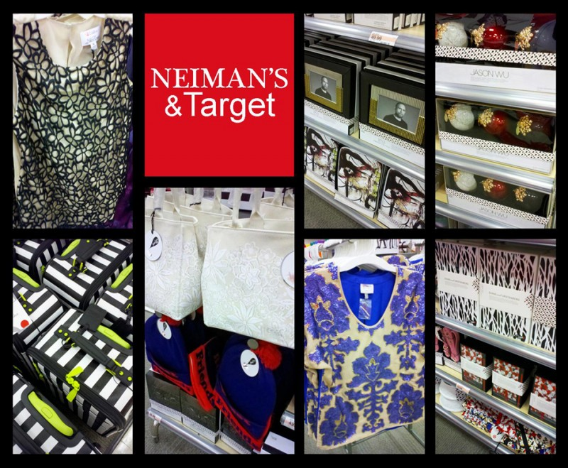 Products from the Neiman Marcus and Target holiday 2012 collaboration.
