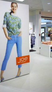 Entrance to the Joe Fresh Department at JCP