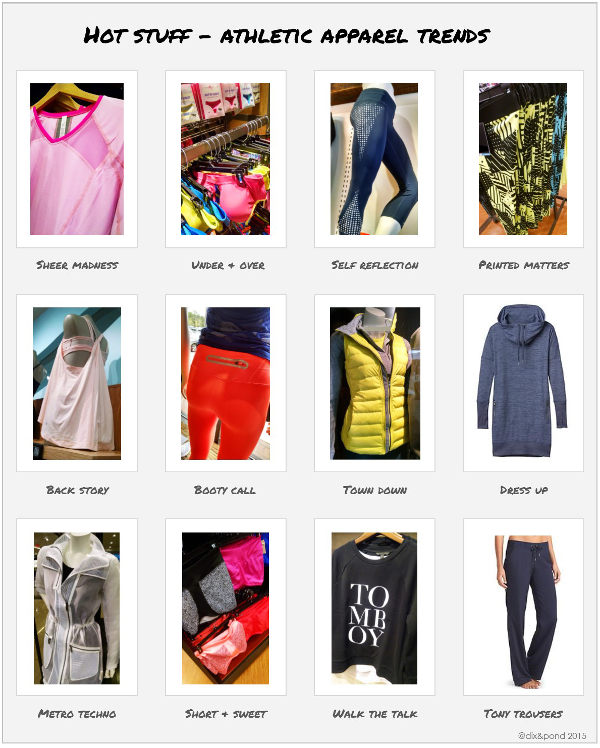 Dix & Pond Athletic Apparel Trends