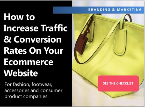 How to increase traffic conversions on your ecommerce for Consumer product design companies