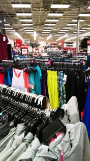 Women's apparel at Sports Authority